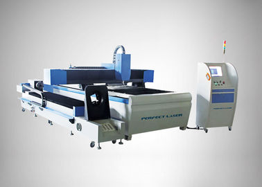 Cina 90 m / min Fiber Laser Cutting Machine For Round Metal Pipe / Sheet Cutting Distributor
