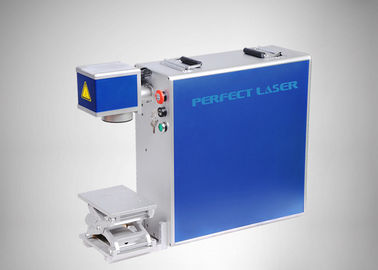Cina Perhiasan Portable Fiber Laser Marking Machine Air Cooled No Consumable Distributor