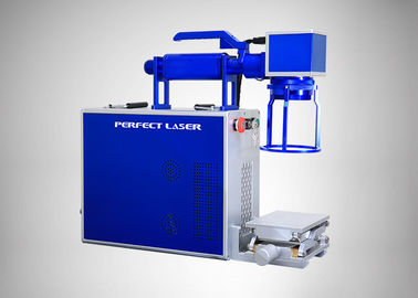 Cina 0 - 5000mm/S Handheld Laser Engraving Machine , 220V Metal / Plastic Marking Machine Distributor
